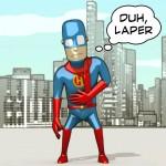 Perjalanan Andi Martin, Kreator Karakter Superhero Lokal bernama Hebring (1)