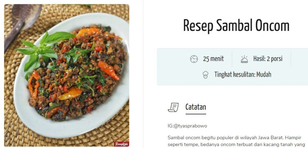 Bikin makanan asli Indonesia bisa lihat di Resep Koki   Resepkoki.id