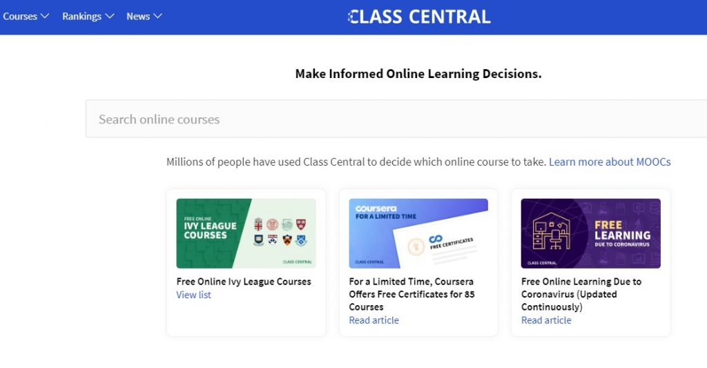 Class Central