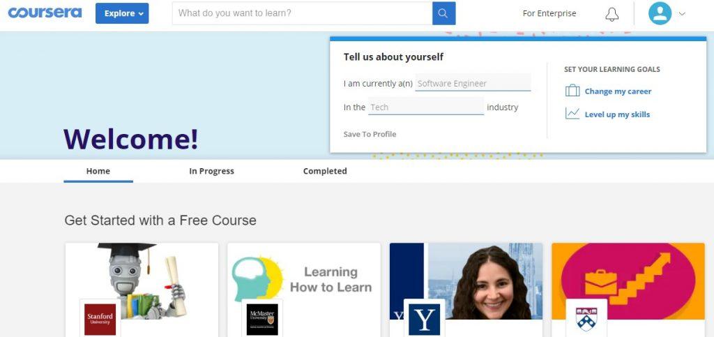 Tidak lolos prakerja, coba daftar Coursera