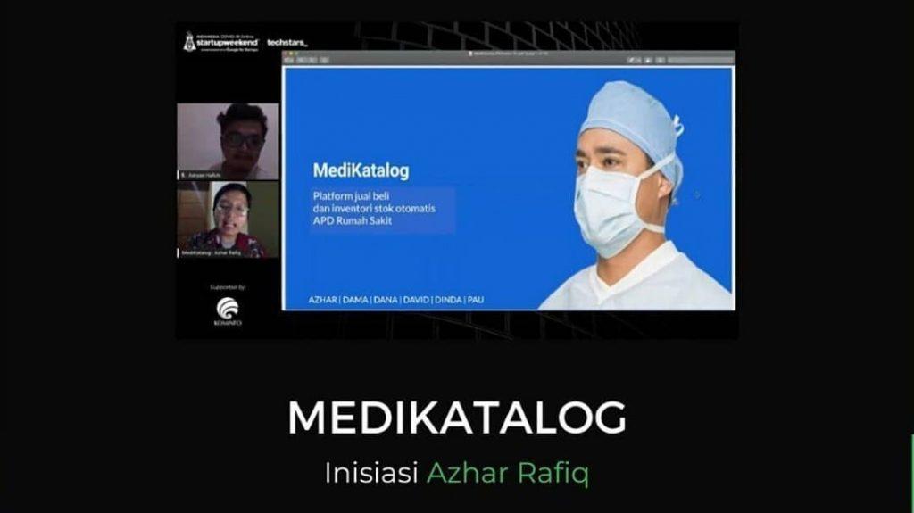 Medikatalog, Juara 1 Startup Weekend Indonesia COVID-19 | instagram.com/startupweekendindonesia