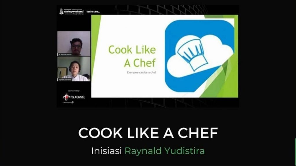 Cook Like A Chef, Juara 2 Startup Weekend Indonesia COVID-19 | instagram.com/startupweekendindonesia